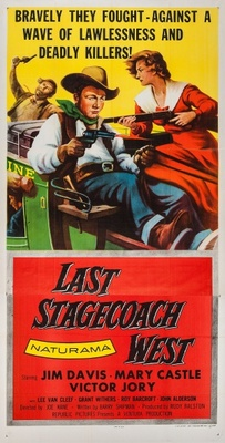 The Last Stagecoach West movie poster (1957) poster MOV_b08f225e