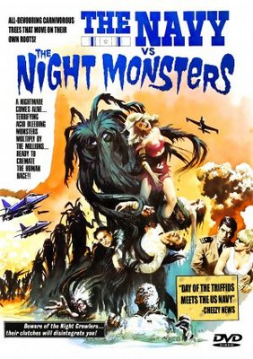 The Navy vs. the Night Monsters movie poster (1966) poster MOV_b097287e