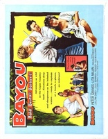 Bayou movie poster (1957) picture MOV_b0a1fa9b