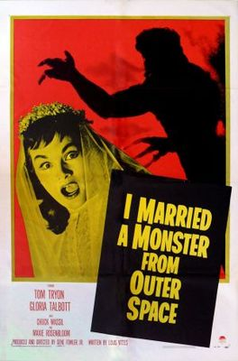 I Married a Monster from Outer Space movie poster (1958) poster MOV_b0a3d4ab