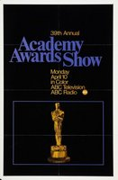 The 39th Annual Academy Awards movie poster (1967) picture MOV_b0a99c0d