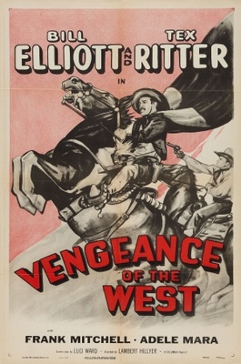 Vengeance of the West movie poster (1942) poster MOV_b0bebacd