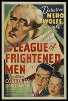 The League of Frightened Men movie poster (1937) picture MOV_b0cb2bdd