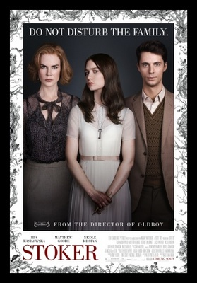 Stoker movie poster (2013) poster MOV_b0d2f32a
