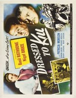 Dressed to Kill movie poster (1946) picture MOV_b103e0be