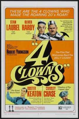 4 Clowns movie poster (1970) poster MOV_b13f1bdd