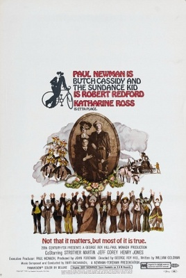 Butch Cassidy and the Sundance Kid movie poster (1969) poster MOV_b154b7c9