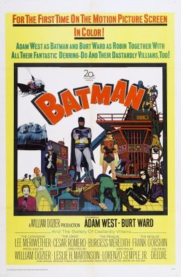 Batman movie poster (1966) poster MOV_b1740647