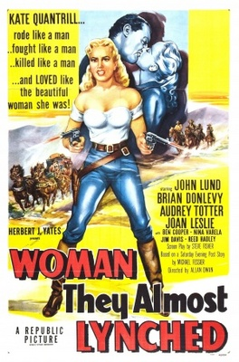 Woman They Almost Lynched movie poster (1953) poster MOV_b178f1ce