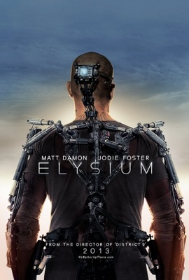 Elysium movie poster (2013) poster MOV_b184c5a9