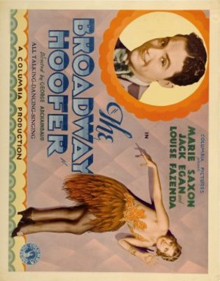 The Broadway Hoofer movie poster (1929) poster MOV_b1b55a6e