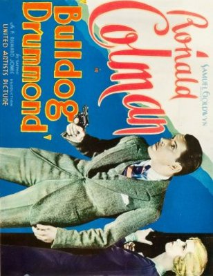 Bulldog Drummond movie poster (1929) poster MOV_b1c8a273