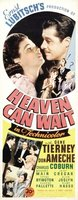 Heaven Can Wait movie poster (1943) picture MOV_b1cbdf29