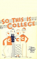 So This Is College movie poster (1929) picture MOV_5bf964d0