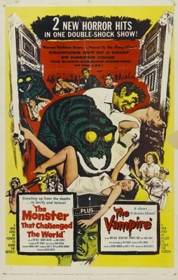 The Monster That Challenged the World movie poster (1957) poster MOV_b239265a
