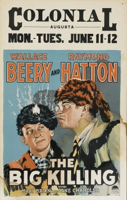 The Big Killing movie poster (1928) poster MOV_b23ad356