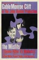 The Misfits movie poster (1961) picture MOV_b23e1356