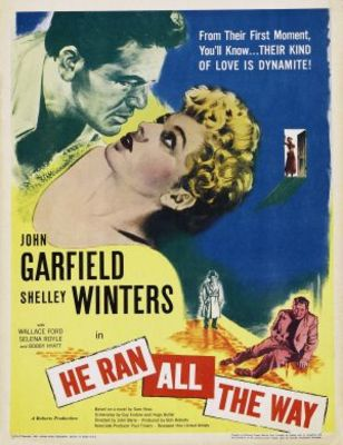 He Ran All the Way movie poster (1951) poster MOV_b24f5c75
