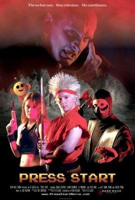 Press Start movie poster (2007) poster MOV_b259cdd2