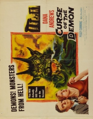 Night of the Demon movie poster (1957) poster MOV_b2684a52