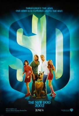 Scooby-Doo movie poster (2002) poster MOV_b2782f15
