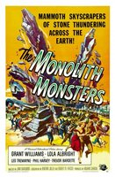 The Monolith Monsters movie poster (1957) picture MOV_8b4eec15