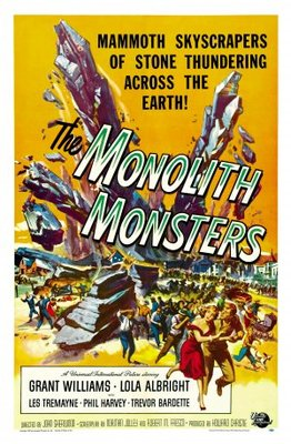 The Monolith Monsters movie poster (1957) poster MOV_b29dc67a