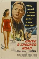Drive a Crooked Road movie poster (1954) picture MOV_b29e38c0