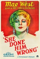 She Done Him Wrong movie poster (1933) picture MOV_925712a0