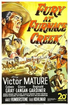 Fury at Furnace Creek movie poster (1948) poster MOV_b2a7f25c