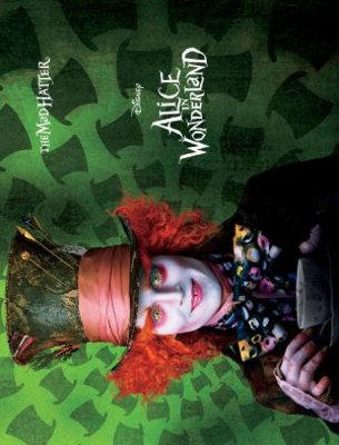 Alice in Wonderland movie poster (2010) poster MOV_b2ab53ca
