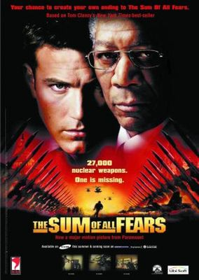 The Sum Of All Fears movie poster (2002) poster MOV_b2acd49c