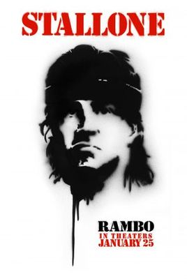 Rambo movie poster (2008) poster MOV_b2b285af