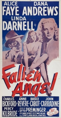 Fallen Angel movie poster (1945) poster MOV_b2c59a39