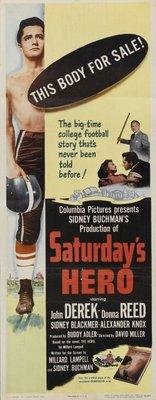 Saturday's Hero movie poster (1951) poster MOV_b2cc4b3f