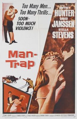 Man-Trap movie poster (1961) poster MOV_b2e7860a