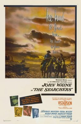 The Searchers movie poster (1956) poster MOV_b30d845f