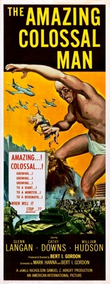 The Amazing Colossal Man movie poster (1957) poster MOV_b32b1038