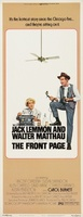 The Front Page movie poster (1974) picture MOV_b333d999
