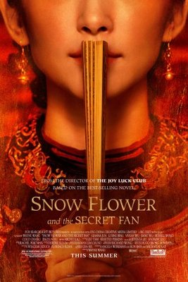 Snow Flower and the Secret Fan movie poster (2011) poster MOV_b33672d6