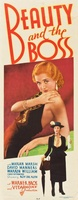 Beauty and the Boss movie poster (1932) picture MOV_b33bdbfe