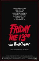 Friday the 13th: The Final Chapter movie poster (1984) picture MOV_b343919c