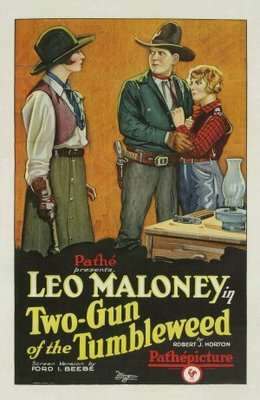 Two-Gun of the Tumbleweed movie poster (1927) poster MOV_b354d8b7