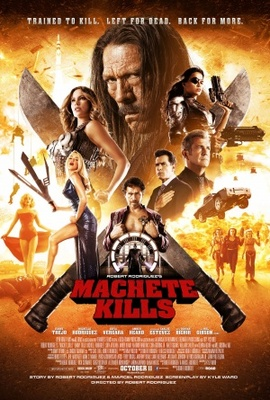 Machete Kills movie poster (2013) poster MOV_b3640c72