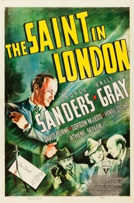 The Saint in London movie poster (1939) poster MOV_b36b8cd0
