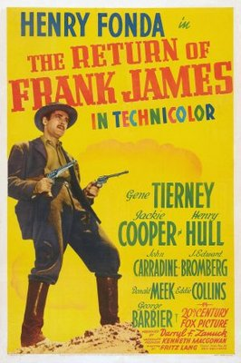 The Return of Frank James movie poster (1940) poster MOV_b36ff326