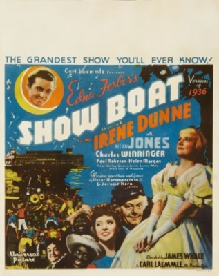 Show Boat movie poster (1936) poster MOV_b375d17a
