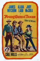 Young Guns of Texas movie poster (1962) picture MOV_b3780219