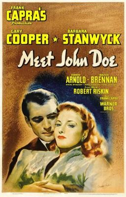 Meet John Doe movie poster (1941) poster MOV_b392337e