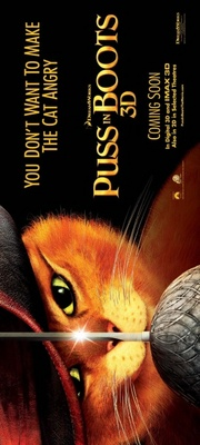 Puss in Boots movie poster (2011) poster MOV_b3996060